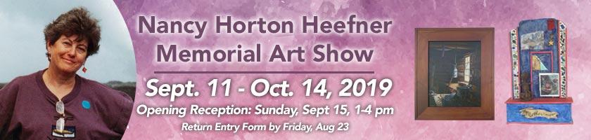 Nancy Horton Heefner Memorial Art Show